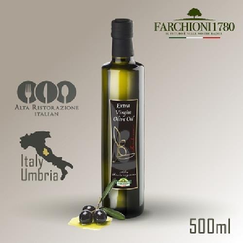 《義大利 法奇歐尼》美食家冷壓初榨橄欖油(500ml/瓶)