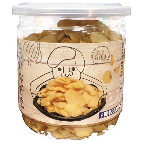《即期2020.10.01五桔國際》雲林莿桐黃金蒜片(80g/罐)