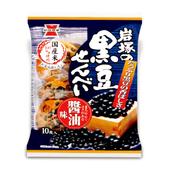 《岩塚》黑豆醬油米果(140g/包)