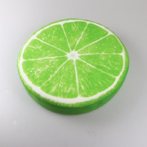 水果圓形胖胖坐墊(檸檬 40x40cm)