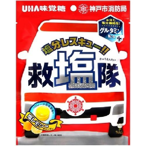 《UHA味覺糖》救鹽隊糖(88g/包)