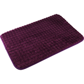 大玉米粒踏墊(紫色 40X60CM)