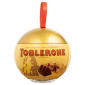 《TOBLERONE》瑞士三角牛奶巧克力聖誕球(112g)