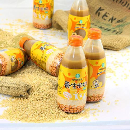 《羅東鎮農會》養生米奶(245ml/瓶)