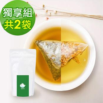 《KOOS》韃靼黃金蕎麥茶+清韻金萱烏龍茶-獨享組(10包入)(各1袋)