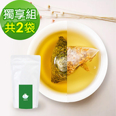 《KOOS》韃靼黃金蕎麥茶+香韻桂花烏龍茶-獨享組(10包入)(各1袋)