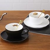 純色咖啡杯組-280ml(黑)