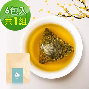 《KOOS》香韻桂花烏龍茶-隨享包 (6包入/組)(1組)