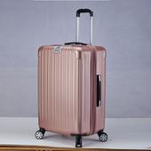 拉絲紋可加大行李箱20吋玫瑰金 $1090