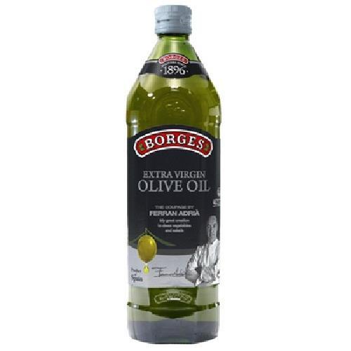 《百格仕BORGES》名廚嚴選原味橄欖油(1L/瓶)