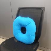 中空圓形坐椅墊 顏色隨機出貨(35X35X10cm)