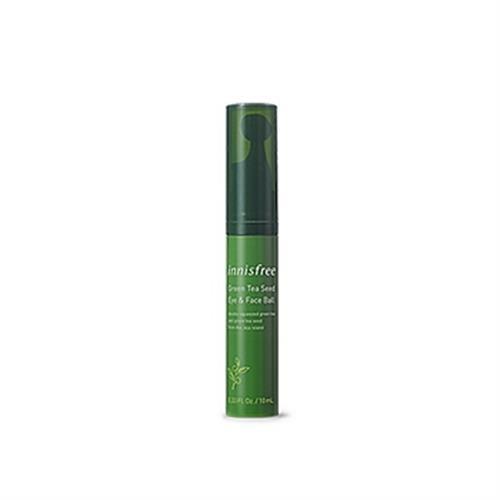 《innisfree》綠茶籽眼部(滾珠精華10ml/瓶)
