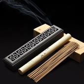 回紋型簍空臥香盒(24*5*3.2cm)