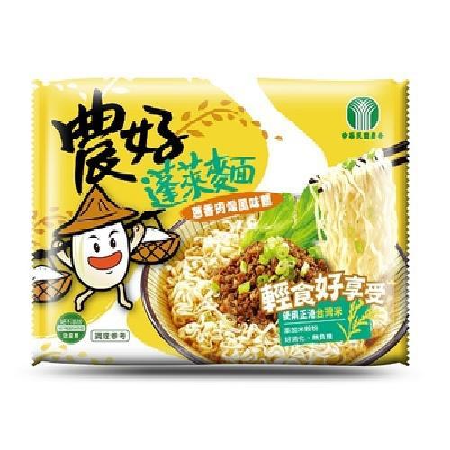 《全國農會》農好蓬萊麵-64gX15入/箱(蔥香肉燥)
