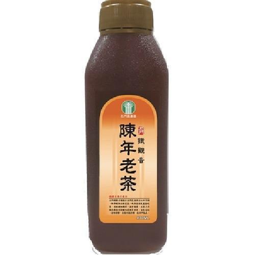 《石門區農會》鐵觀音陳年老茶(430ml/瓶)