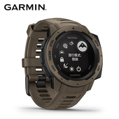《Garmin》Instinct Tactical Edition本我系列 軍事戰術 運動手錶(郊狼棕)