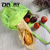 《OMORY》編織網狀購物袋 -多色可選(綠色)