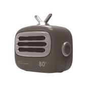 《Hawk 浩客》Mini TV無線藍牙喇叭(灰色/08-ATV160GA)