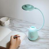 三段式可愛造型桌燈(青 39.5X8X8cm)