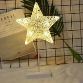 籐編小夜燈 (USB款)(星星 40CM)