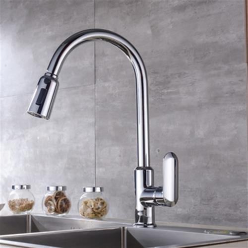 低鉛銅伸縮廚房龍頭(79165)