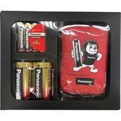 《Panasonic》King Leo 1號+4號超值包(鹼性1號2入+4號4入+電池收納包)