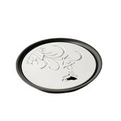 日照蘭花儲水式敞口茶盤(直徑33.5X5.5cm)