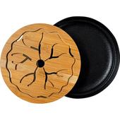 荷月儲水式小茶盤(20.5X4.3cm)