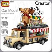 積木玩具(熱狗車)
