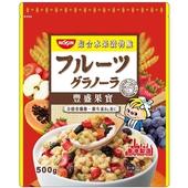 日清豐盛果實綜合水果穀物脆(500g/袋)