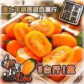 《預購-家購網嚴選》美濃橙蜜香小蕃茄 3斤/盒(X1盒)