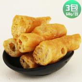 《皇覺》火鍋好朋友鍋物必備老油條(60g/包,約5-6根)(3包)