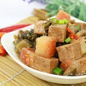 《【高興宴】素人上菜》長壽鴻福梅干扣肉500g(蛋奶素)-適合5-7人)(現貨D+5)