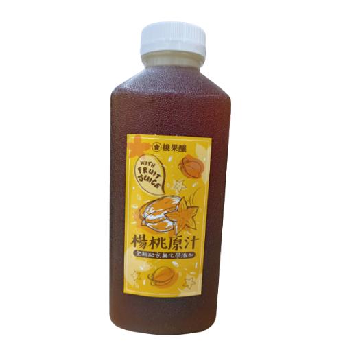 《桃果釀》楊桃原汁(1100g/罐)