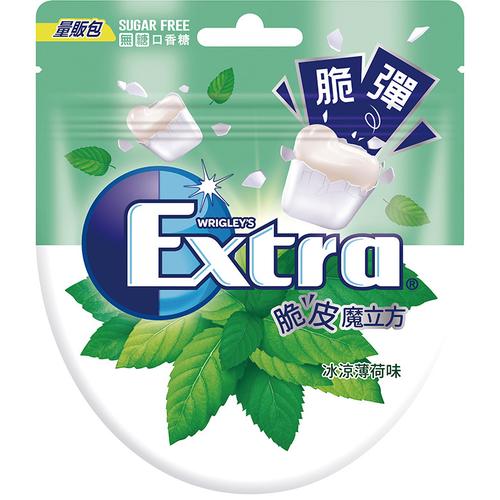 《益齒達》脆皮魔立方口香糖 薄荷口味(57.2g)