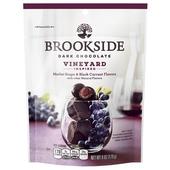 《Brookside》黑巧克力(梅洛葡萄-170g/袋)