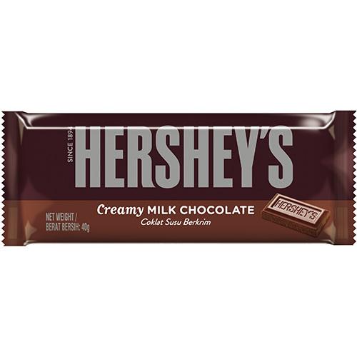 《Hershey's》巧克力片裝-40g/片(牛奶)