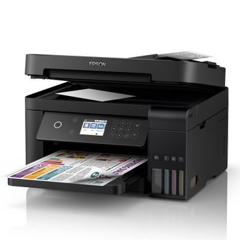 《EPSON》L6170 雙網三合一高速WIFI 連續供墨複合機 列印/影印/掃描
