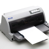 《EPSON》LQ-690 點陣印表機 24針點矩陣 ※隨機加贈延保卡+色帶一條