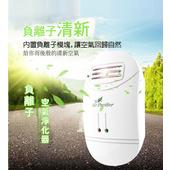 家用迷你負離子空氣清淨器(白色)