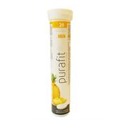 《德國Purafit》鳳梨風味發泡錠90g(20錠)/條