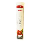《德國Purafit 柏尹芙》蔓越莓風味發泡錠(84g(20錠)/條)