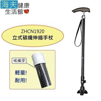 《海夫健康生活館》日華 拐杖手杖 立式/伸縮/超輕碳纖維(ZHCN1920)