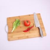 竹製切菜板22X32X1.8cm $59