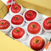 《鮮果日誌》日本空運青森蜜蘋果(8入精美禮盒裝)