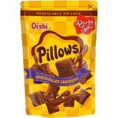 《Oishi》枕頭造型餅乾-110g/包(巧克力-即期2020.09.04)