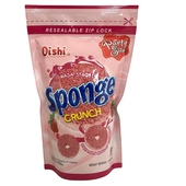 《Oishi》甜甜圈造型餅乾-110g/包(草莓)