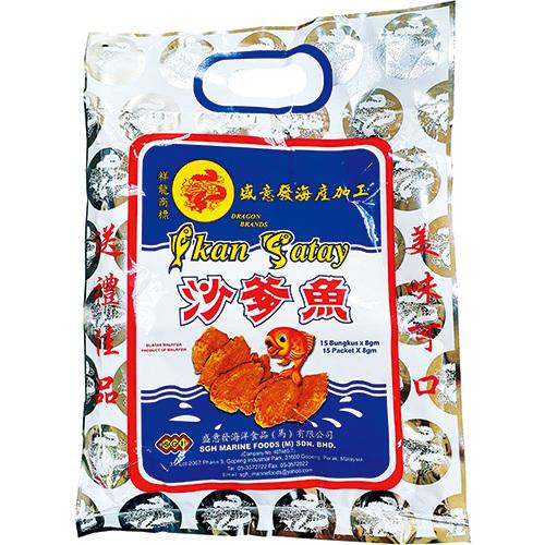 《祥龍》沙爹魚 120g(30小包/袋)