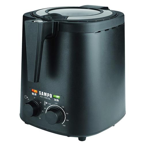 《SAMPO 聲寶》健康油切氣炸鍋 KZ-L19301BL