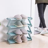 Z型組合鞋櫃(粉 48X19X46cm)